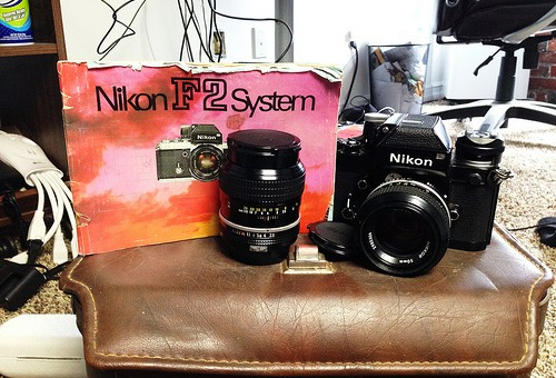 Flea Market FIND Nikon F2