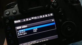 RAW Video on the Canon 5D Mark III?!