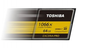 toshiba fastest ever cf card