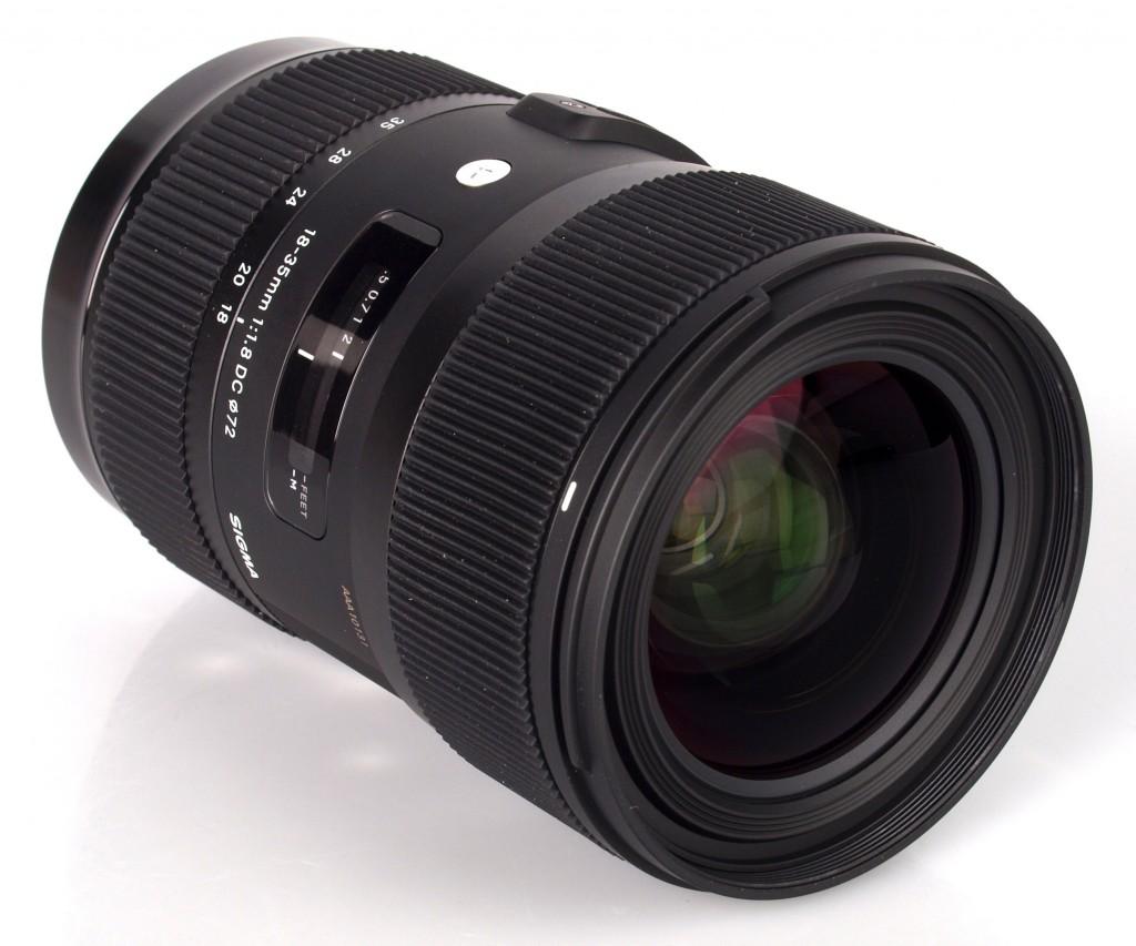 sigma 18-35mm lens