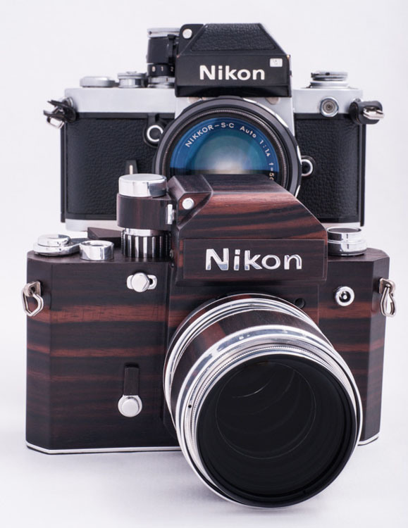 wooden nikon f2