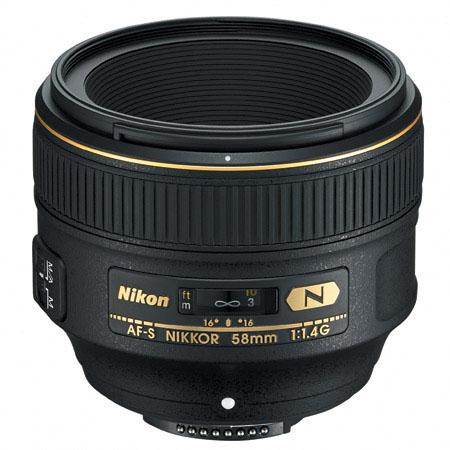 nikon 58mm f1.4