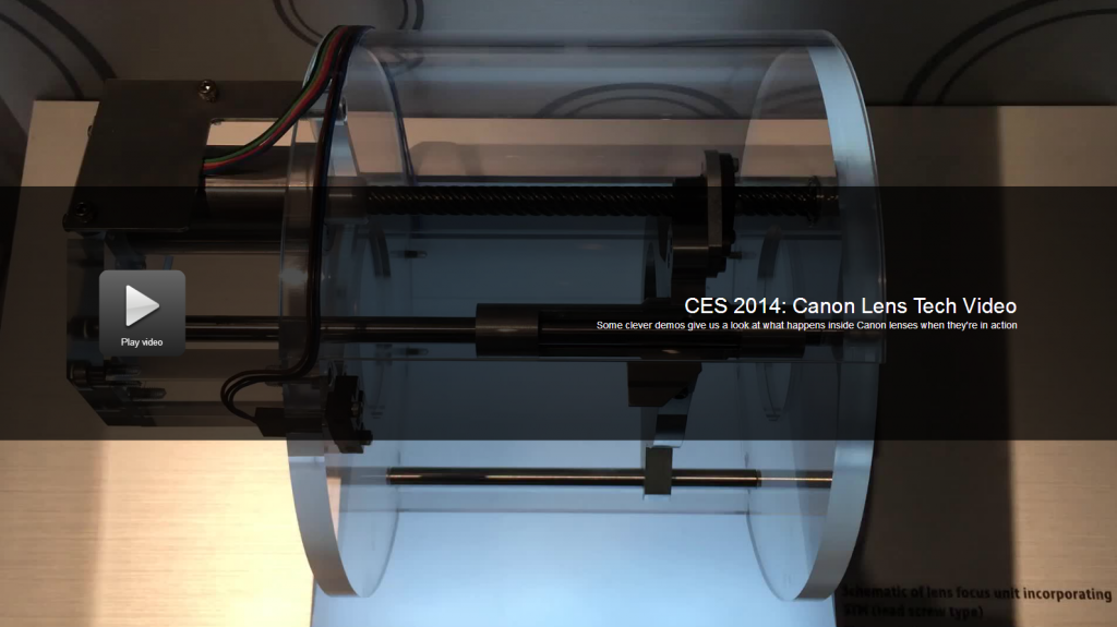 canon ces lens video