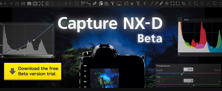 capture nx d software