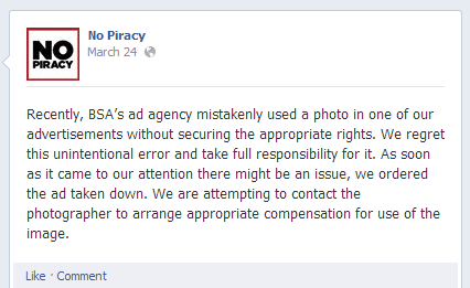 no piracy response
