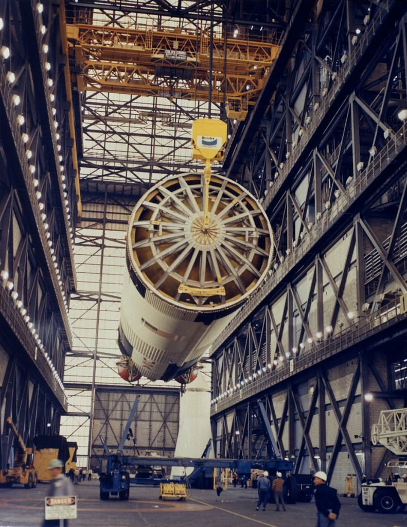 apollo 11 being built