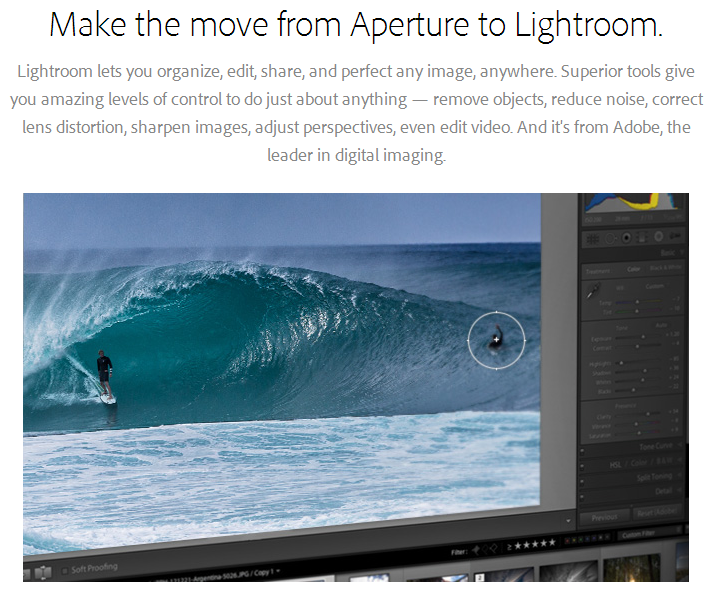 aperture to lightroom