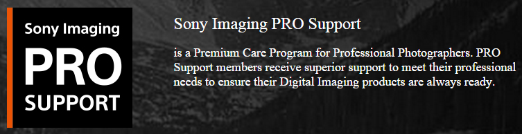 SONY PRO SUPPORT