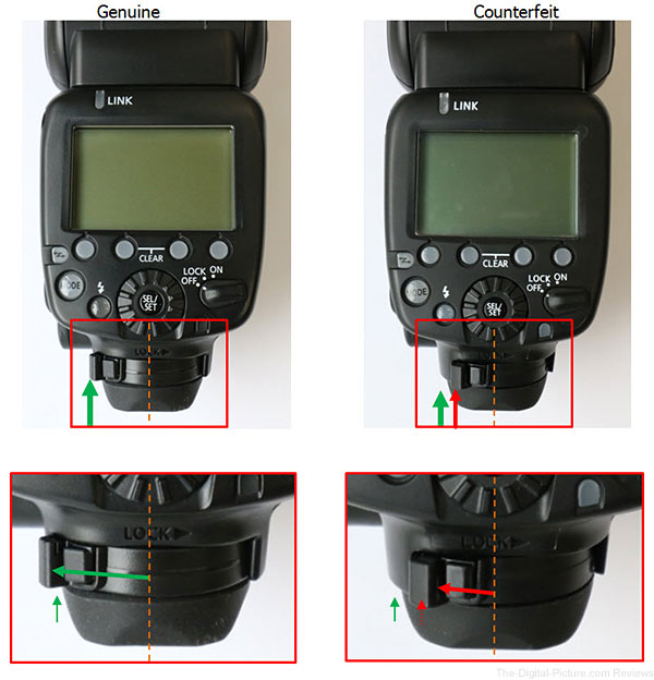 Canon-Speedlite-600EX-RT-Counterfeit-Foot-Lock