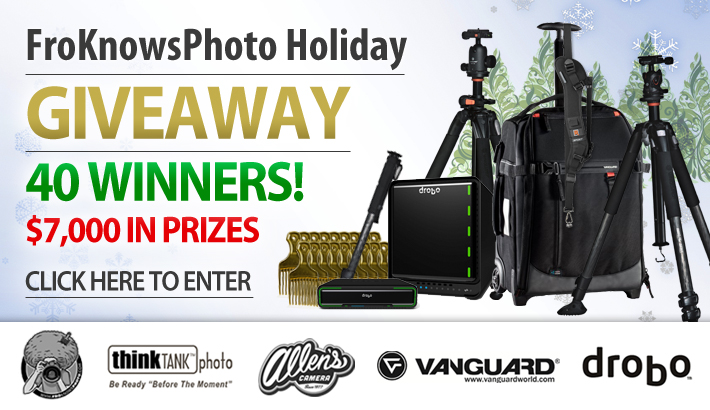 Giveaway FroKnowsPhoto Holiday Contest