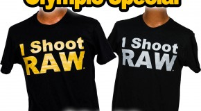 I SHOOT RAW Olympic Gold and Silver Special